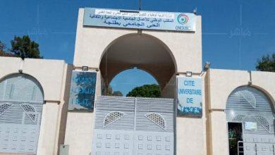إخلاء الحي الجامعي بجامعة عبد المالك السعدي بطنجة 5
