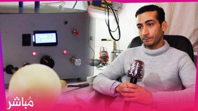 حميد المودن مغربي يصنع جهاز يساعد على التنفس بتكلفة بسيطة 5