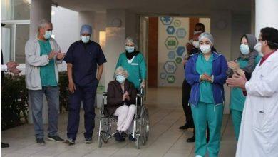 مواطنة ألمانية تغادر مستشفى محمد السادس بطنجة بعد شفائها من كورونا 2