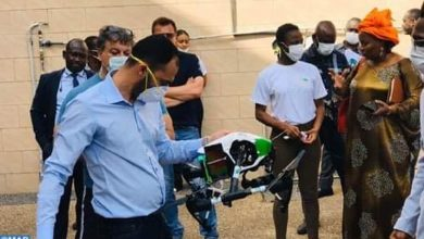 """شاب مغربي يصنع طائرات مسيرة للتصدي لفيروس """"كورونا"""" في أبيدجان 2"""