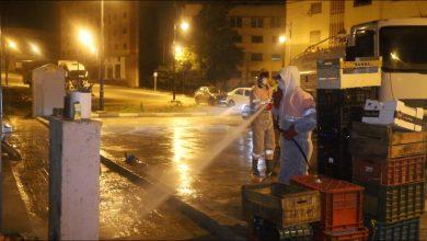 عمال النظافة..رجال ليل لحفظ رونق طنجة 3
