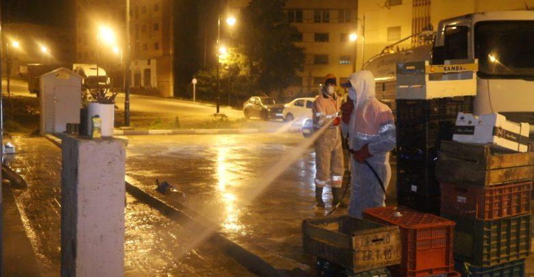 عمال النظافة..رجال ليل لحفظ رونق طنجة 1