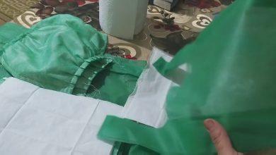 زوجين يصنعان الكمامات ويوزعانها بالمجان على دور العجزة بالحسيمة 5