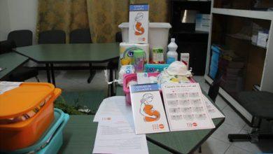 انطلاق عملية توزيع علب صحية للوقاية من كورونا بطنجة 3