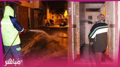 السلطات تعقم أزقة وشوارع بحي بنكيران سجلت فيه إصابات بفيروس كورونا 3