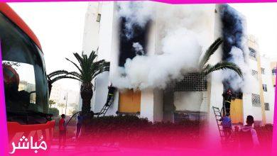 تدخل بطولي لرجال الوقاية المدنية بطنجة لإخماد حريق بإحدى الشقق 4