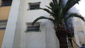 حريق مهول يأتي على شقة سكنية بطنجة 2