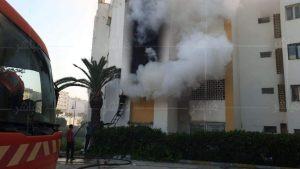 حريق مهول يأتي على شقة سكنية بطنجة 4