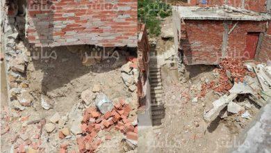 سقوط منزل بحي العوينة بمغوغة الكبيرة 4