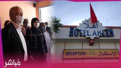الوالي مهيدية يتفقد فندق مخصص لإيواء مصابي كورونا بطنجة 5