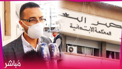 تصريح دفاع زوجة الأب المتهمة بالإعتداء على ربيبها بعد الافراج عنها ومتابعتها في سراح مؤقت 3