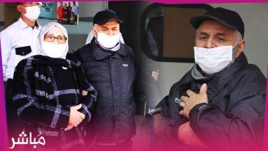 شخص وزوجته يغادران دوق دي طوفار بطنجة بعد شفائهما التام من الفيروس 3