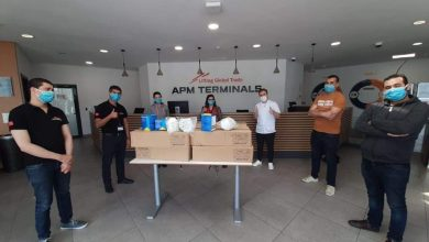 """""""APM Terminals"""" تتبرع بـ5000 كمامة FFP2 لأطر مستشفى محمد السادس 5"""