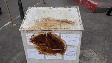 مجهولون بطنجة يخربون النصب التذكاري لليوسفي يومين بعد وفاته 5