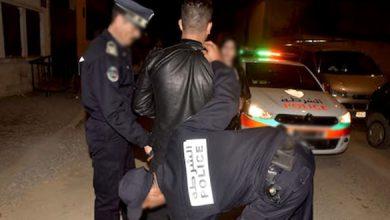 اعتداء على شرطي بطنجة والأمن يوقف الفاعل 3