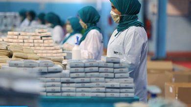 المغرب يشرع في تصدير فائض الكمامات إلى الخارج 3