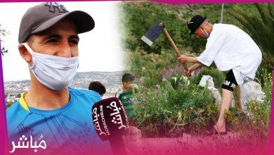 شباب بطنجة يتطوعون لتنظيف مقبرة حي بنكيران 4