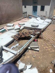 انهيار سور مدرسة يودي بحياة عامل بناء بشفشاون 3