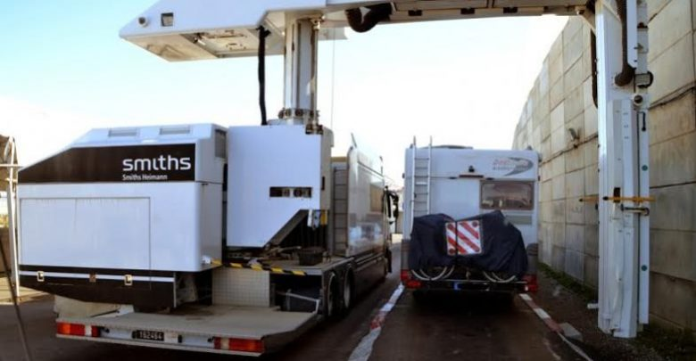 السكانير يطيح بشاحنة محملة بالحشيش بميناء طنجة المتوسط 1