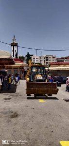 روتوشات أخيرة لإفتتاح سوق كاسباراطا يوم غد الخميس 3