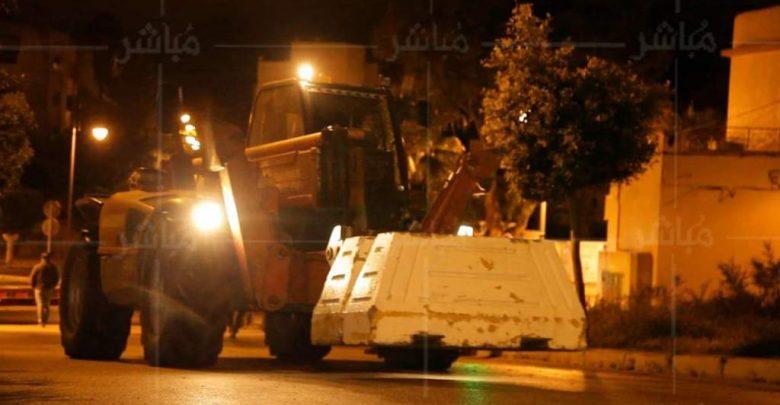 أخيرا.. قرار بإزالة الحواجز من شوارع مدينة طنجة غدا الأربعاء 1