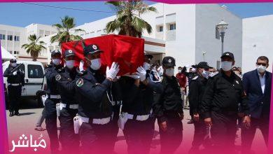 جنازة مهيبة لشهيد الأمن الوطني بالحسيمة 1