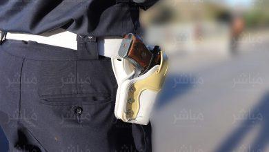 إطلاق الرصاص لتوقيف شخص هاجم رجال الشرطة بواسطة كلب شرس 3