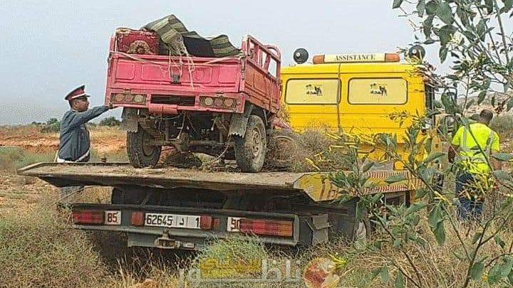 مصرع زوجين وإصابة 5 من أبنائهما في حادثة سير مميتة ضواحي الناظور 1