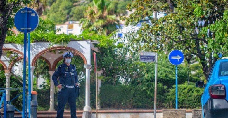 إجراءات أمنية صارمة عند مدخل مدينة العرائش 1