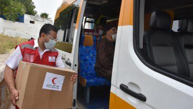 الهلال الأحمر المغربي يوزع مساعدات غذائية على مرضى القصور الكلوي بالمضيق 5