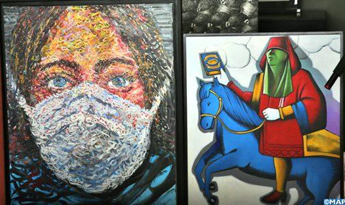 طنجة : بيع بالمزاد العلني لأعمال فنية لفائدة الصندوق الخاص بتدبير جائحة كورو 1