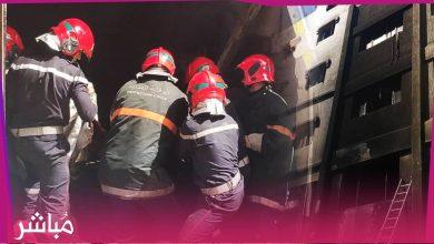 الوقاية المدنية تسيطر على حريق نشب في متجر للمفروشات بطنجة 1