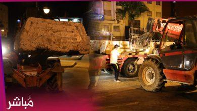 سلطات طنجة تعيد إغلاق الأحياء الشعبية بالمتاريس الإسمنتية 4