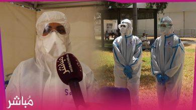 ممرضات المستشفى الميداني بطنجة تواجهن كورونا بكل شجاعة ونكران الذات 3