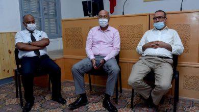الإتحاد الجهوي لنقابات طنجة يجتمع في لقاء تواصلي مع عمدة المدينة 6