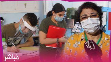 أجواء امتحانات البكالوريا من قلب ثانوية مولاي رشيد بطنجة 3