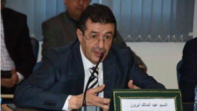 أبرشان يرغم عبد المالك أبرون على تقديم الاعتذار امام الجامعة 2