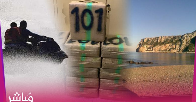انفراد..توقيف اسبانيين دخلوا المغرب على متن جيتسكي لنقل المخدرات 1