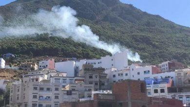 السلطات تسارع الزمن للسيطرة على حريق بإقليم شفشاون 5