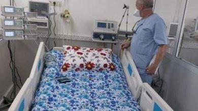 مهيدية يتفقد مصابي كورونا بمستشفى محمد السادس 5