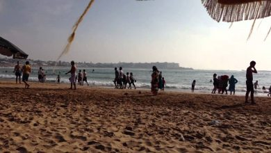 السلطات تغلق شواطئ المحمدية خوفا من تدفق البيضاويين 6