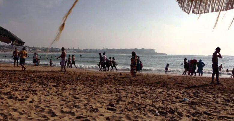 السلطات تغلق شواطئ المحمدية خوفا من تدفق البيضاويين 1