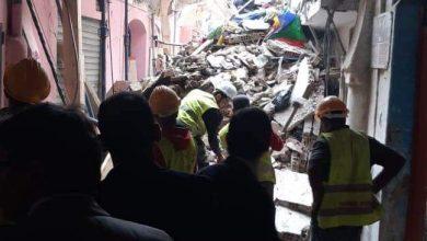 انهيار بناية آيلة للسقوط بالدار البيضاء 4