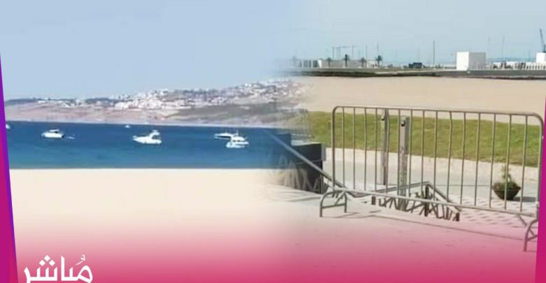 السباحة في طنجة..مسموحة لأصحاب اليخوت ومحرمة على باقي المواطنين 1