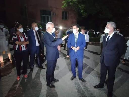 ظهور بؤر وبائية يدفع وزير الصحة لإقامة مستشفى ميداني بمراكش 1