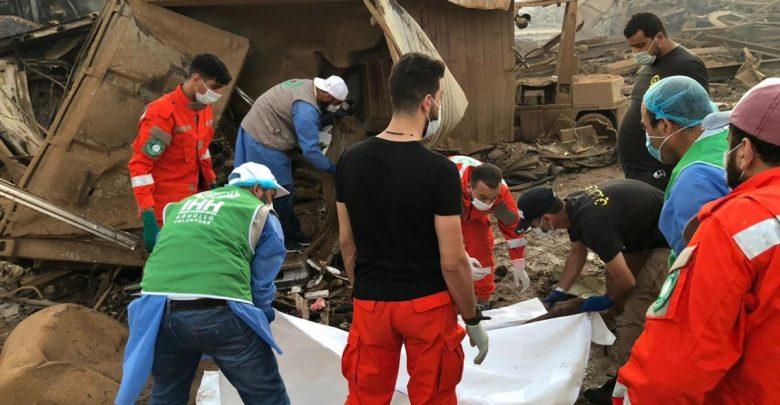الاتحاد الأوروبي يعلن عن إرسال نحو مائة إطفائي للمساعدة في عمليات البحث ببيروت 1