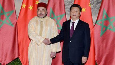 الملك يجري مباحثات هاتفية مع الرئيس الصيني 3
