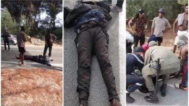 """سلطات طنجة تحقق في وفاة مهاجر إفريقي بغابة """"دانبو"""" وتعتقل 13 شخصا 5"""