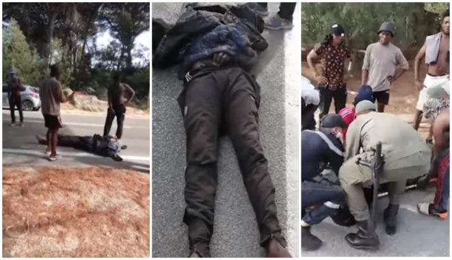 """سلطات طنجة تحقق في وفاة مهاجر إفريقي بغابة """"دانبو"""" وتعتقل 13 شخصا 1"""