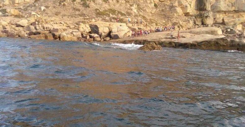 """مصرع طفل غرقا بشاطئ """"الكاريان"""" بطنجة 1"""